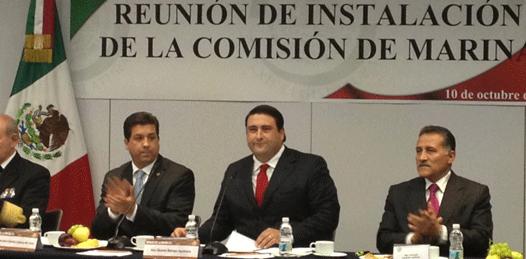 Asume el senador Barroso Presidencia de la Comisión de Marina