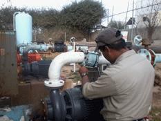 Repara OOMSAPASLC derrames de aguas negras