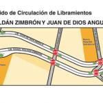 los libramientos Daniel Roldán Zimbrón y Juan De Dios Angulo, volverán a ser de dos sentidos.