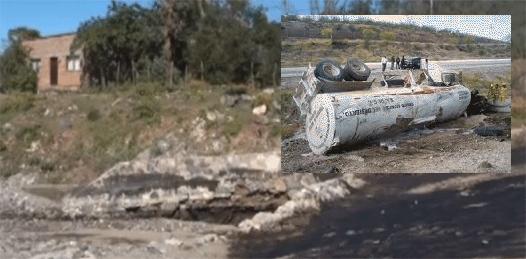 """""""Poco probable"""" contaminación del agua por turbosina derramada en San Antonio"""