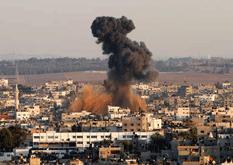 Gaza bajo fuego israelí