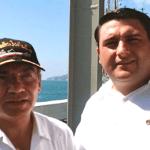 Ricardo Barroso y Felipe Calderón