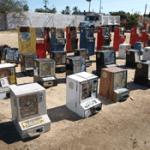 PGR destruyó 50 máquinas tragamonedas