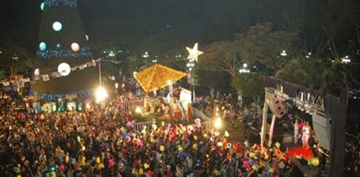 Verbena Popular Navideña en Plaza de la Reforma