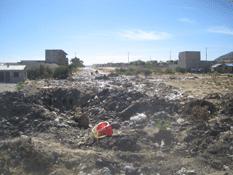 Le niegan a La Ballena, recolección de basura