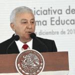 secretario de Educación Pública , Emilio Chuayffet