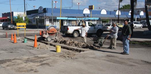 Entregará el  Gobierno estatal 13 calles reparadas al municipio de La Paz