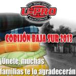 Cobijón Baja Sur 2013