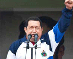 Hugo Chávez, estable