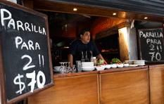 ¿Comer con 6 pesos al día?
