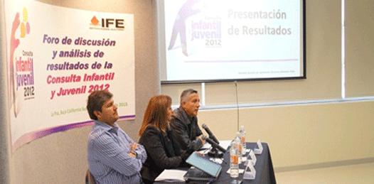 Ven los niños mexicanos un futuro gris revela el IFE