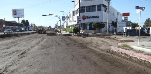En diciembre concluirá el cierre de calles