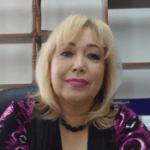 Directora general del Registro Civil en La Paz, profesora, Anita Beltrán Peralta.