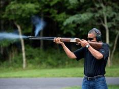 Obama se avienta un tiro