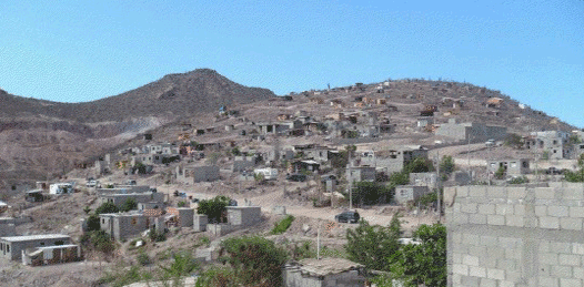 Viven más de 1,200 familias en zonas irregulares de La Paz