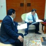 Alcalde Mulege con SRE