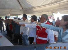 Ernesto Álvarez Gámez al Consejo Local de Cruz Roja