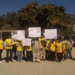 Marcha contra el dengue