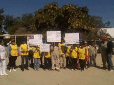 Marchan contra el dengue