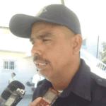El comandante delegacional de Seguridad Pública, Martín Espinoza Albáñez.