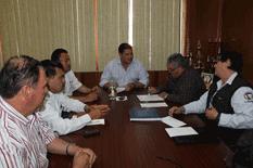 Se reunió Alcalde con dirigentes de Burócratas
