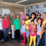 El senador Ricardo Barroso Agramont visitó colonias y domicilios de Ciudad Constitución
