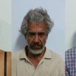 María de Jesús Medina, Ranulfo Parra García.y Julio César Sandoval.