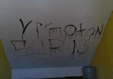 Vandalismo en secundaria 19