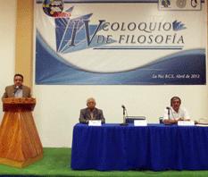 Inauguró la UABCS el IV Coloquio de Filosofía