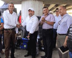 Entrega Alcalde apoyos al sector agrícola