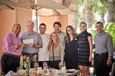 Entrega Sheraton donativo a Casa Hogar CSL
