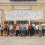 Miembros del Movimiento Sindical Cabeño