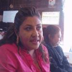 María Cristina Contreras Rebollo.