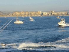 Por vientos cierran el puerto a la navegación menor