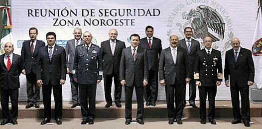 Analiza Marcos Covarrubias junto a gobernadores el mando único policial