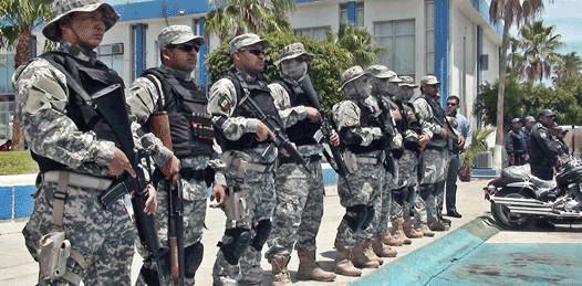 Entregan equipo antimotines y campo de tiro virtual a cuerpos policiacos