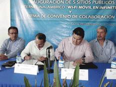 Firman UABCS y TELMEX convenio de colaboración