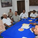 primera reunión del Plan Local de Contingencia