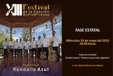 Invitan al XIII Festival de la Canción Sudcaliforniana