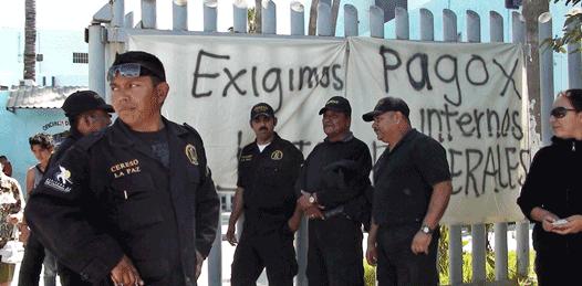 Volvieron a manifestarse custodios del Cereso