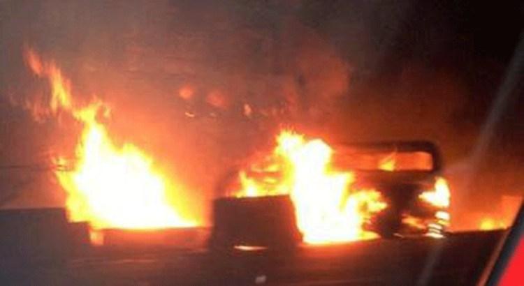 Explota pipa de gas en Ecatepec
