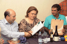 Recibe La Paz visita de Alcalde de Punta del Este