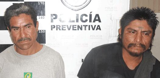 José Luis Arcaraz Torres y Arturo Pérez Moreno.