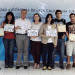 """Los ganadores del concurso """"El libro en mi vida"""" de la UABCS fueron: María José Castañeda Mercado (primer lugar), Karla Vázquez Castillo (segundo lugar) y Jorge Alberto Ruiz Vargas (tercer lugar)."""