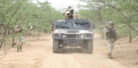 Brigadas de búsqueda de las Fuerzas Armadas buscan el objeto en las inmediaciones de Chametla, El Centenario y San Juan de la Costa.