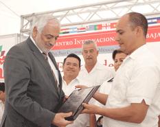 El embajador de Palestina en México, Munjed  Saleh