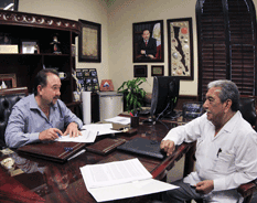 Firma Ayuntamiento Convenio Hábitat 2013