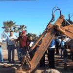 red de agua potable a las Colonias Guerrero y El Paraíso.