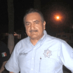 El director de Seguridad y Tránsito Municipal, Marcelo Talamantes Higuera.