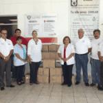 donación 22 cajas con tratamientos de diálisis peritoneales